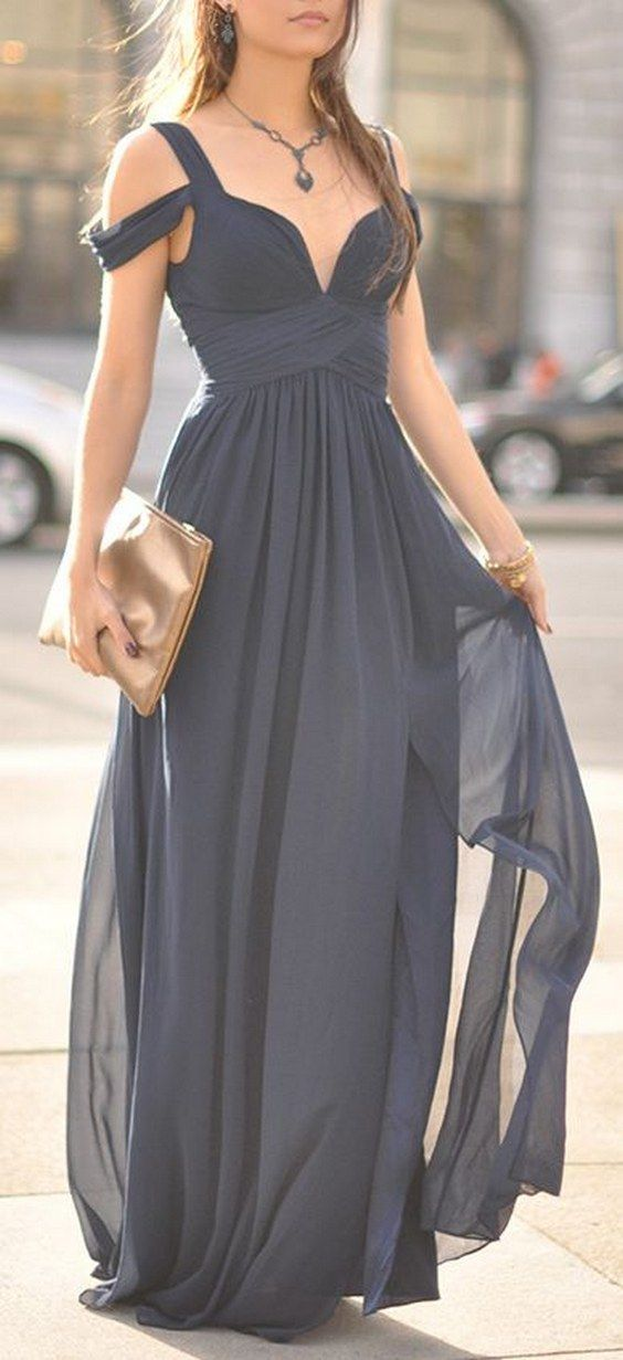 Gorgeous Grey Bridesmaid Dresses (11)