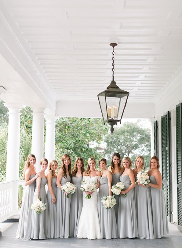 Gorgeous Grey Bridesmaid Dresses (12)