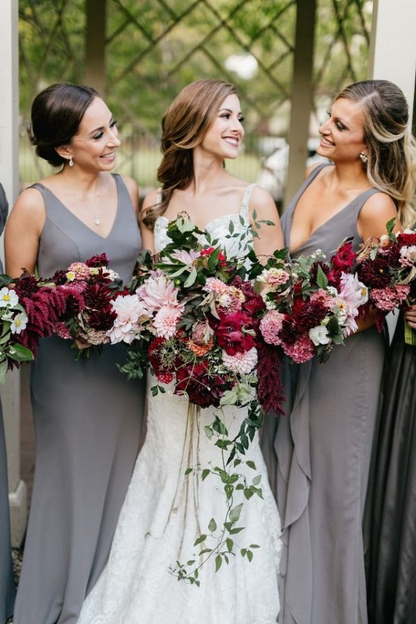 Gorgeous Grey Bridesmaid Dresses (14)