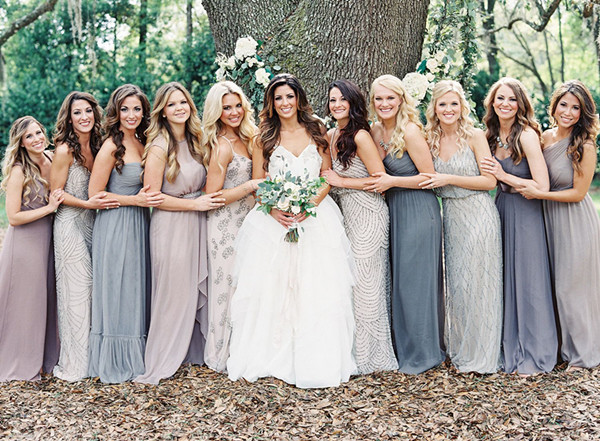 Gorgeous Grey Bridesmaid Dresses (15)