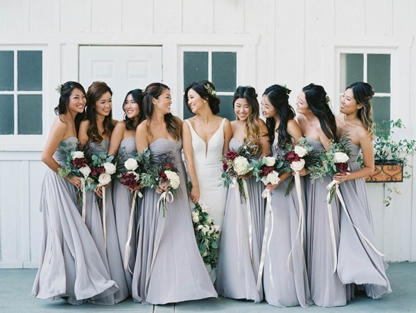 Gorgeous Grey Bridesmaid Dresses (17)