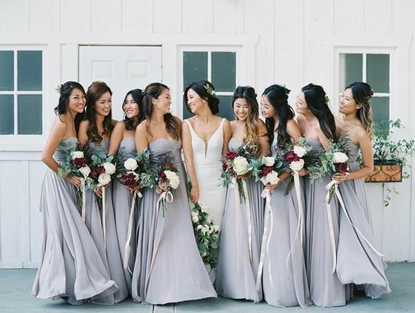 Gorgeous Grey Bridesmaid Dresses (17)