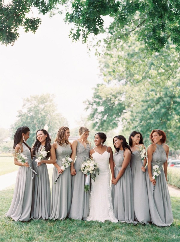Gorgeous Grey Bridesmaid Dresses (20)