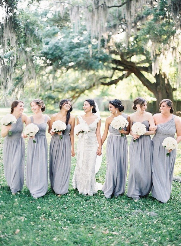Gorgeous Grey Bridesmaid Dresses (22)