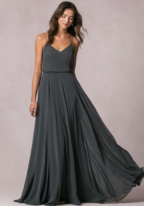 Gorgeous Grey Bridesmaid Dresses (3)