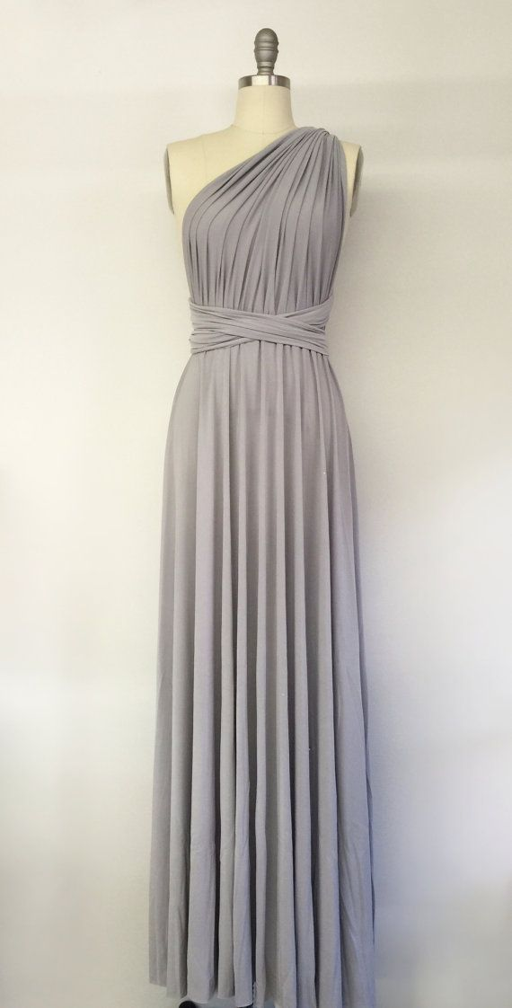 Gorgeous Grey Bridesmaid Dresses (4)
