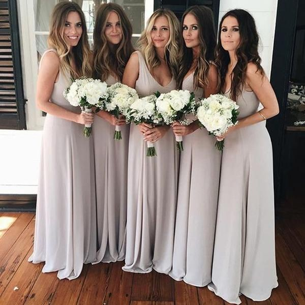 Gorgeous Grey Bridesmaid Dresses (5)