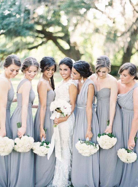 Gorgeous Grey Bridesmaid Dresses (6)