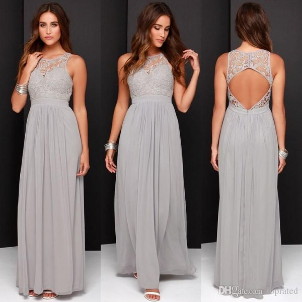 Gorgeous Grey Bridesmaid Dresses (7)