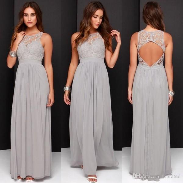 Gorgeous Grey Bridesmaid Dresses (7)