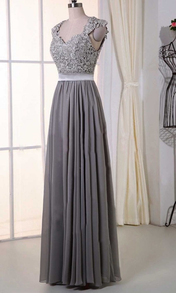 Gorgeous Grey Bridesmaid Dresses (8)