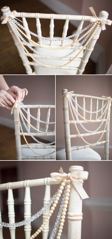 Creative and Fun Wedding Chair Décor Ideas to Rock
