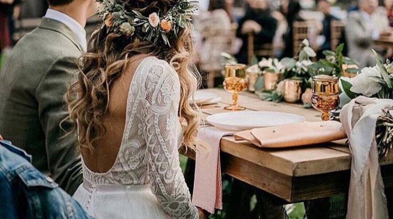 Breath-taking Boho Wedding Dresses Can not Miss 1497366352596639109