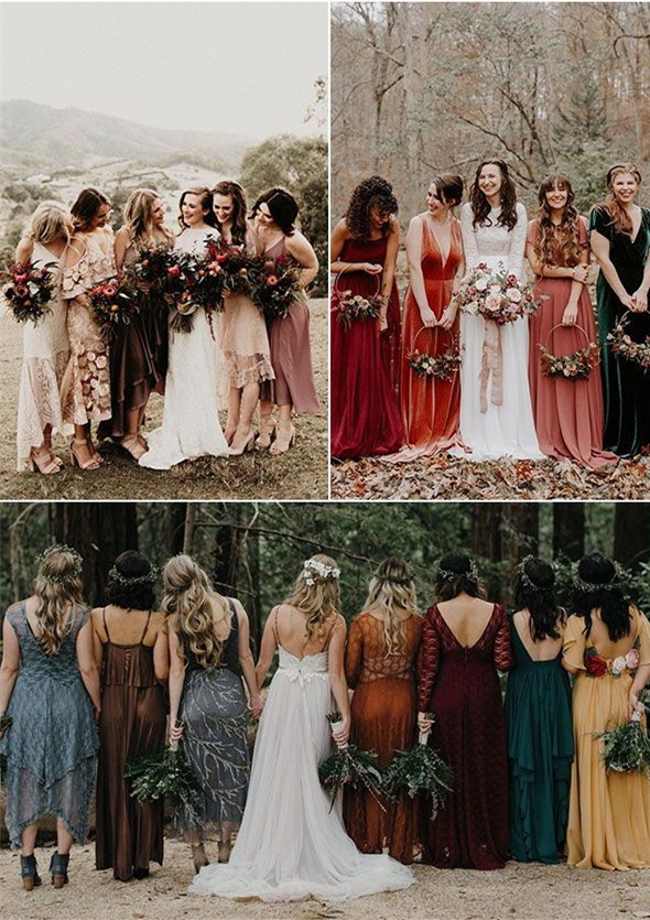 Mismatched Bridesmaid Dresses Your Girls Can't Say No to!