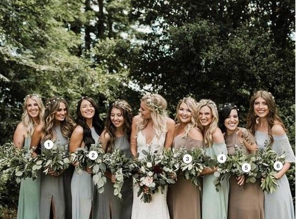 Mismatched Bridesmaid Dresses Your Girls Cant Say No to 1640637115720752482