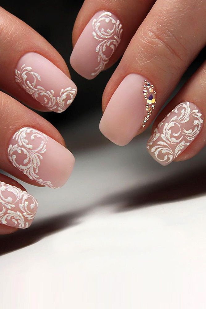 35 Spring Wedding Nail Ideas to Copy