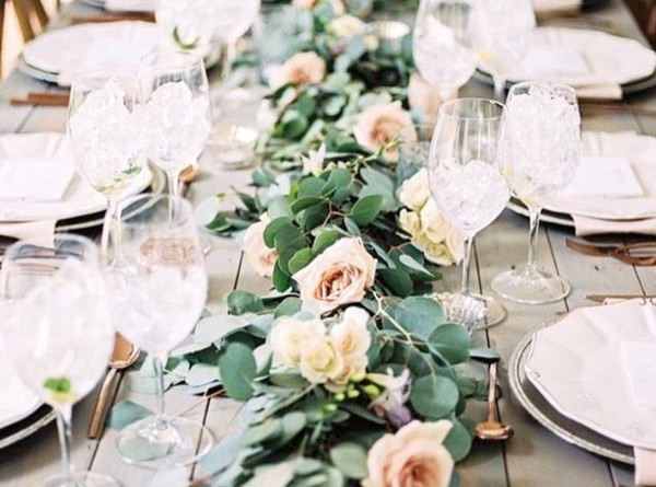 Spring Wedding Table Runners You Cant Miss 151087777009638250