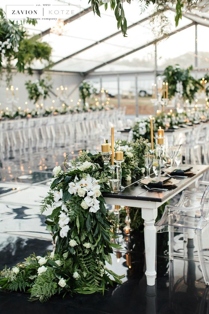 Summer Wedding Color Combos to Rock - Green and White