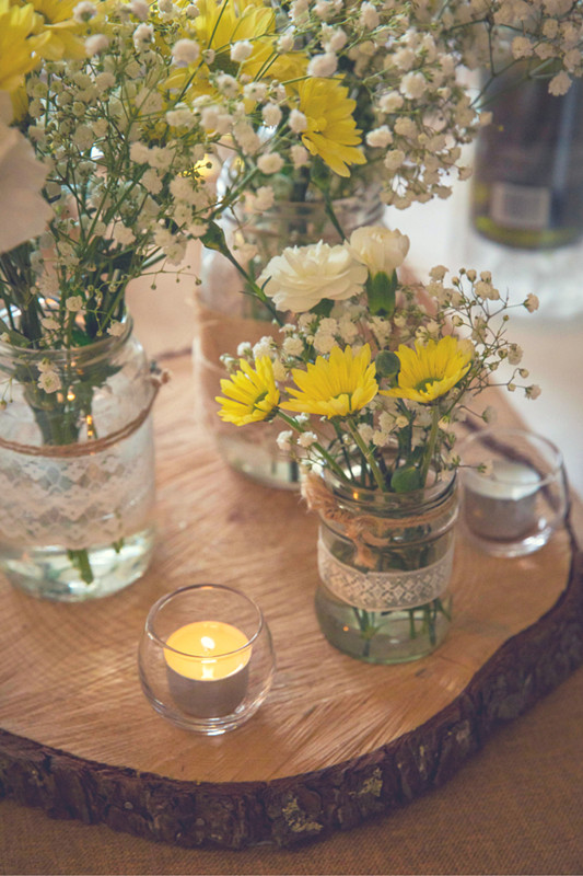 Summer Wedding Color Combos to Rock - Grey and Yellow
