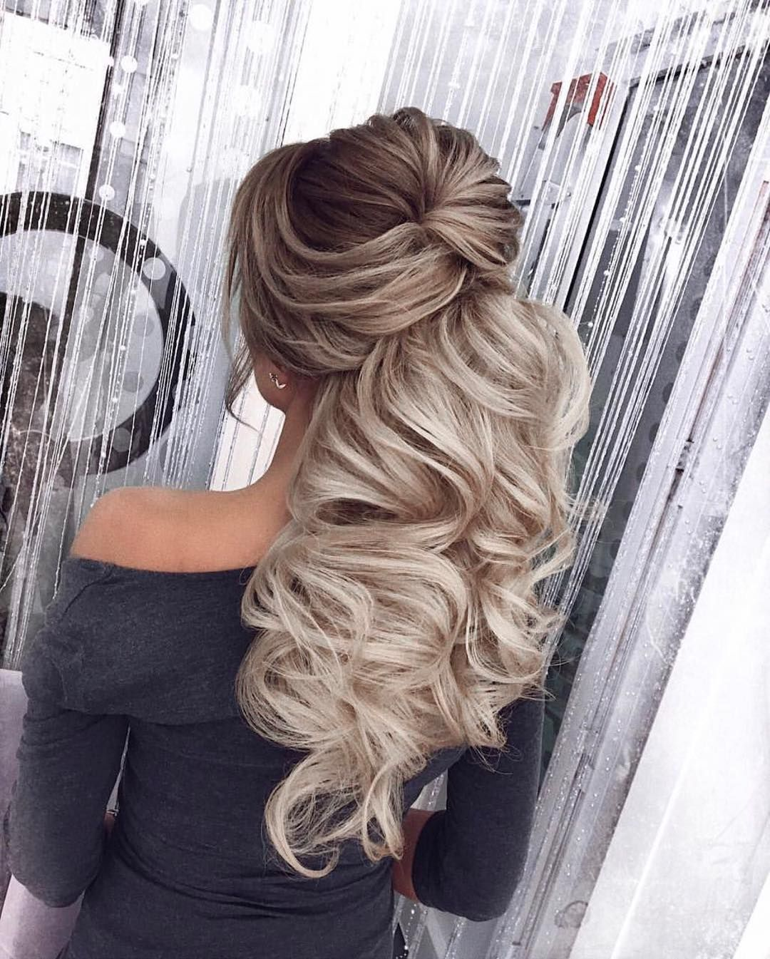 40 Gorgeous Wedding Hairstyles For Long Hair: 34 Gorgeous Trendy Wedding Hairstyles For Long Hair