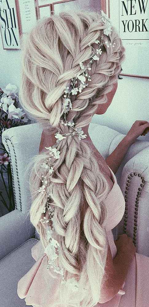 Gorgeous Trendy Wedding Hairstyles for Long Hair