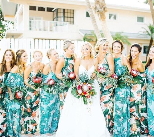 Tropical Bridesmaid Dresses to Rock 1116460340344769903