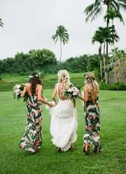 Tropical Bridesmaid Dresses Ideas to Rock