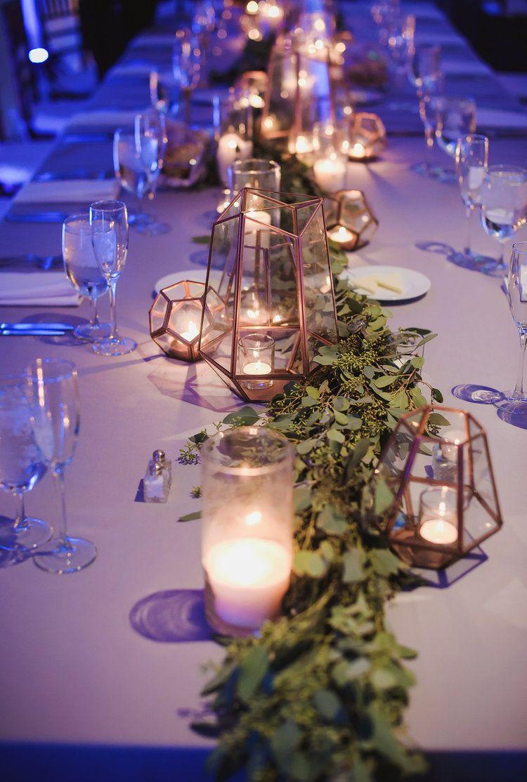 Creative and Stylish Geometric Wedding Decors