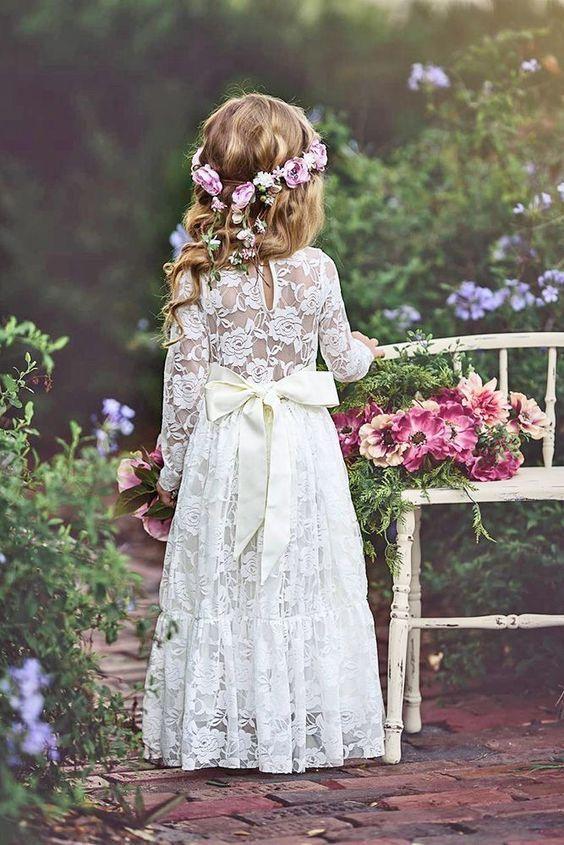 Cute Summer Flower Girl Dresses for The Little Angels