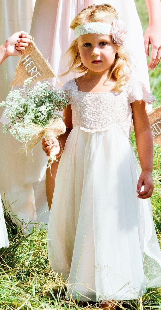 Cute Summer Flower Girl Dresses for The Little Angels