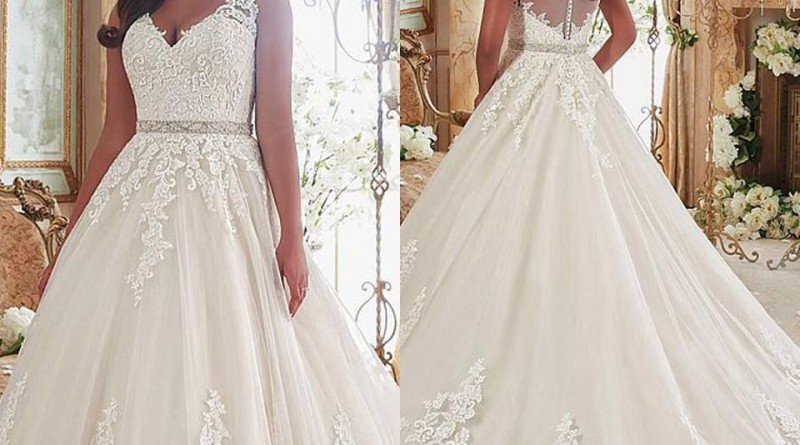 Plus Size Wedding Dresses to Shine 1811492426579537331