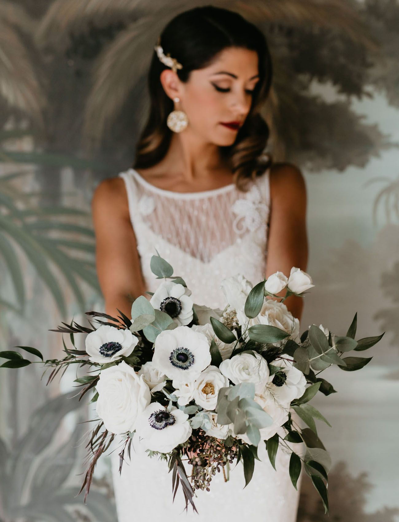 White Wedding Bouquets for Every Season