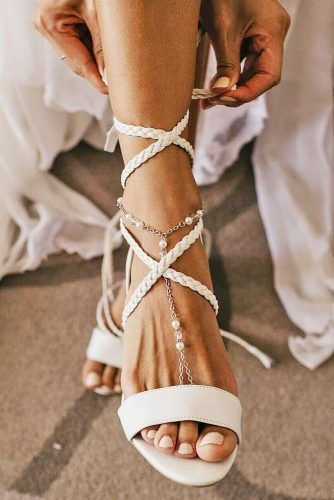 Comfy Wedding Sandals to Blow Your Mind Away