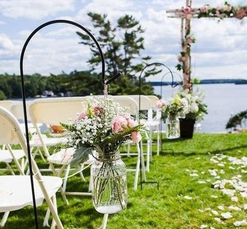Creative Summer Wedding Aisle Decoration Ideas to Inspire 1446278644309566885