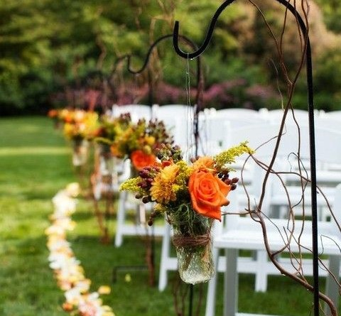 Fall Wedding Aisle Decorations to Blow Your Mind Away 1198862139773845048