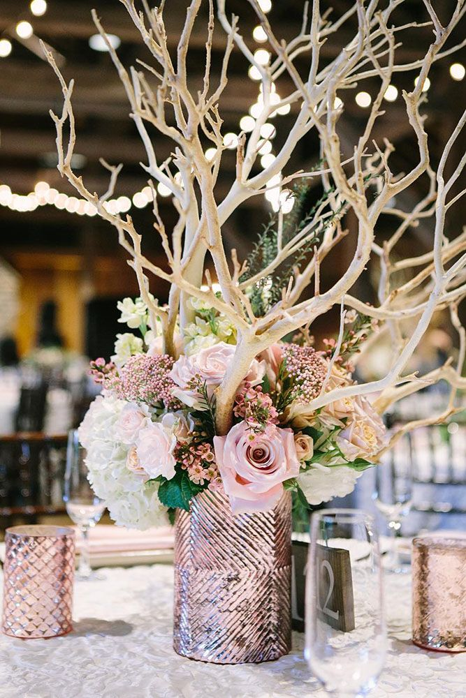 State-making Rose Gold Wedding Decorations Ideas