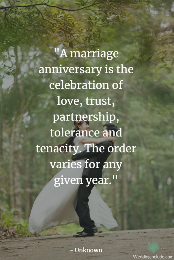 Touching Wedding Anniversary Quotes Never Fail