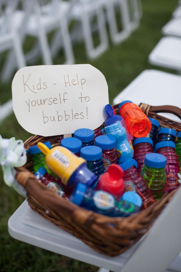 Fun Ways to Entertain Kids at Your Wedding
