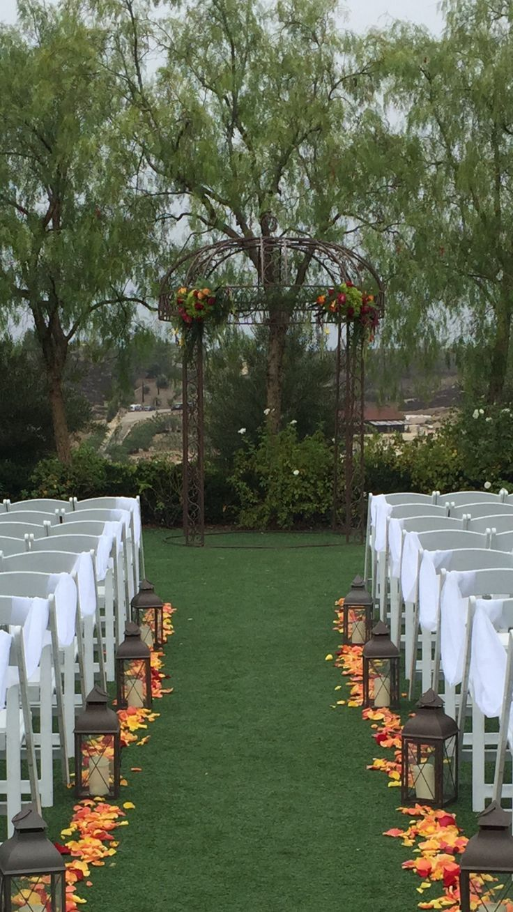 Sensational Fall Wedding Arch Ideas