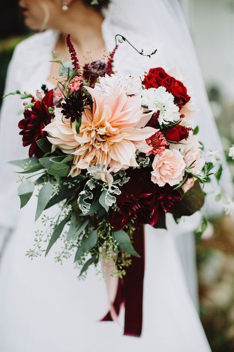 Charming Burgundy Wedding ideas for Fall and Winter Weddings