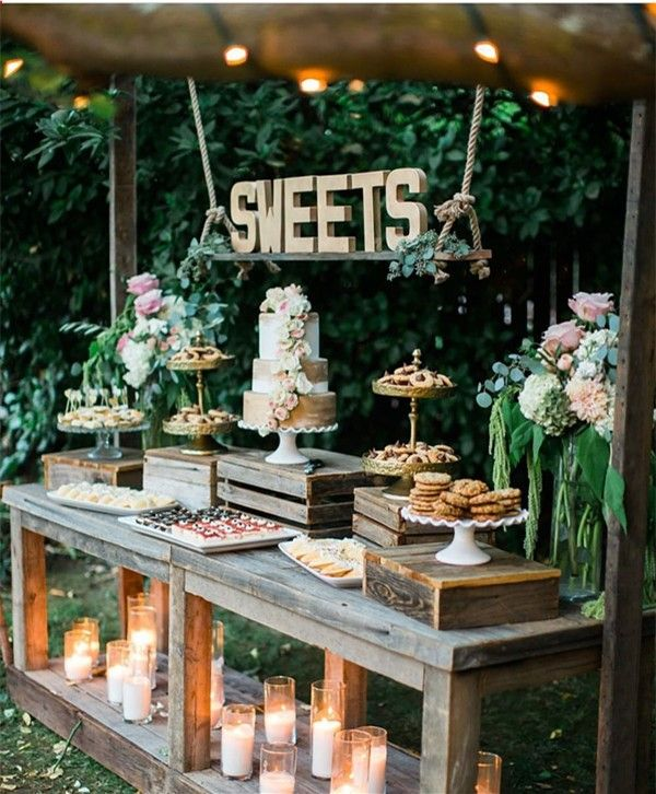 Awesome Wedding Dessert Bar Ideas to Rock