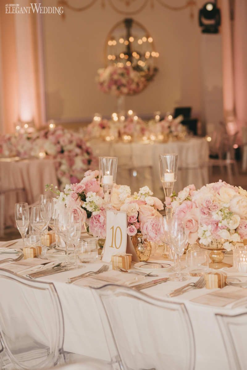 36 Blush Pink And Gold Wedding Color Inspirations