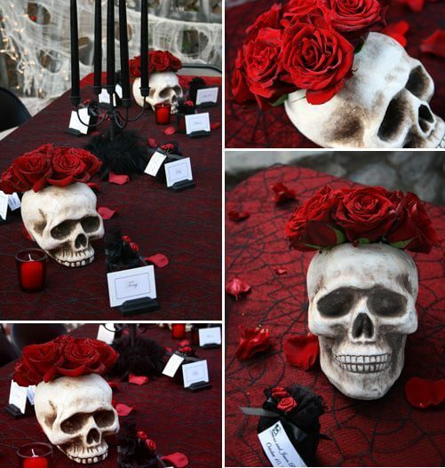 Unique Halloween Wedding Ideas