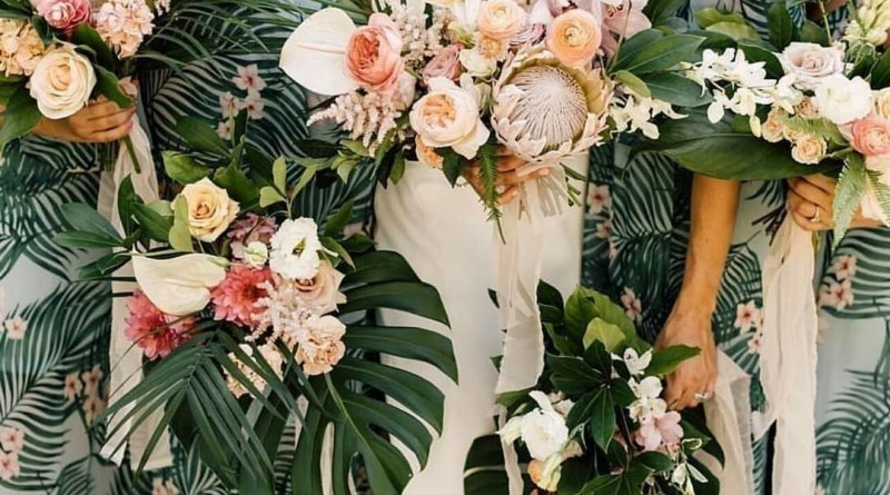 Best Tropical Wedding Bouquets Ever 1473159504601030888