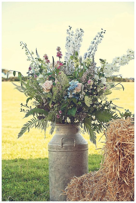 Country Wedding Inspiration with Amazing Details