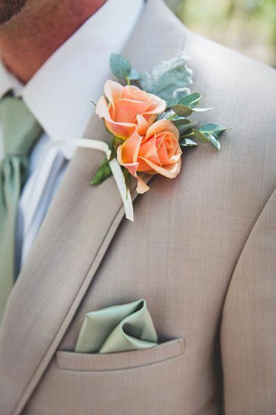 Refreshing Mint and Peach Wedding Color Inspiration