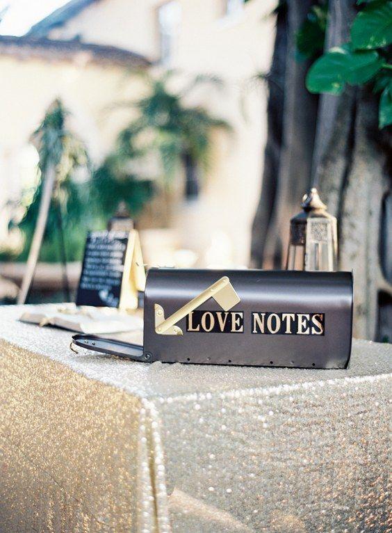 Vintage Mailbox Wedding Decoration Ideas
