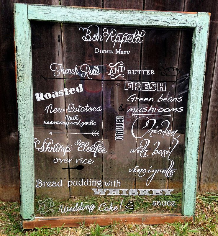 Creative Ways to Display Your Wedding Menu