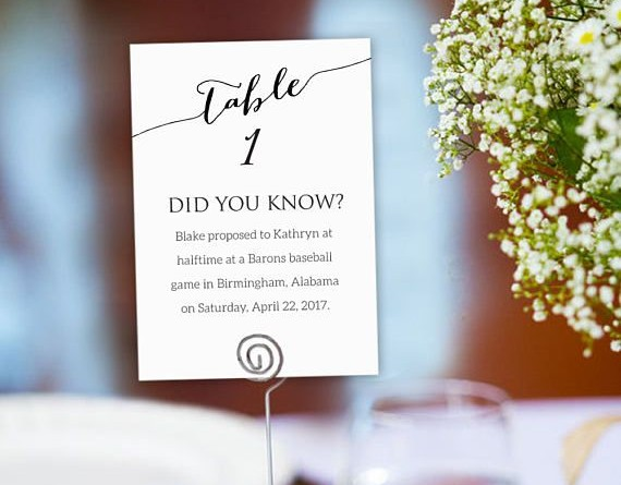 Creative Wedding Table Number Ideas to Stand Out 1582160689303975027