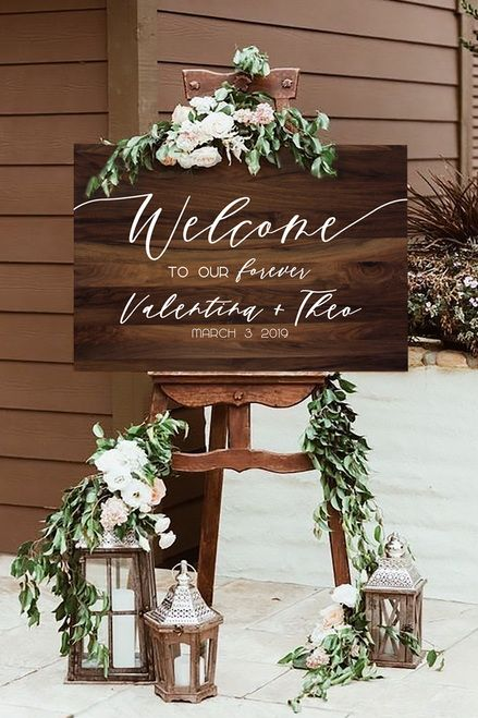 Gorgeous Rustic Wedding Sign Ideas